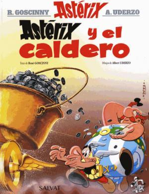 ASTERIX Y EL CALDERO  - SALVAT - 9788469602607 -