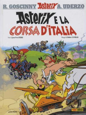 ASTERIX E LA CORSA D'ITALIA - panini comics italie - 9788891230195 -