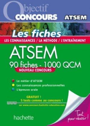ATSEM - 90 fiches - 1 000 QCM - hachette - 9782011623072