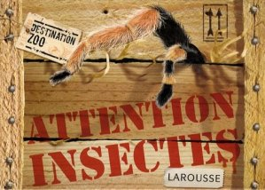Attention insectes - larousse - 9782035843906 -