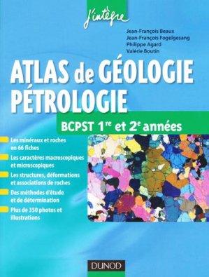 Atlas de géologie-pétrographie - dunod - 9782100559787 -