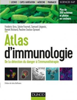 Atlas d'immunologie - dunod - 9782100767052
