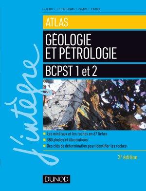 Atlas de géologie-pétrologie BCPST 1 et 2 - dunod - 9782100789627 -