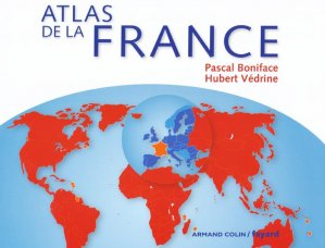 Atlas de la France - armand colin - 9782200271688 -