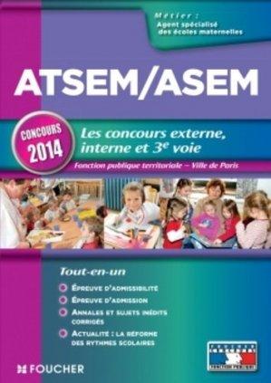 ATSEM / ASEM Les nouveaux concours externe, interne et 3e voie - foucher - 9782216128075 -