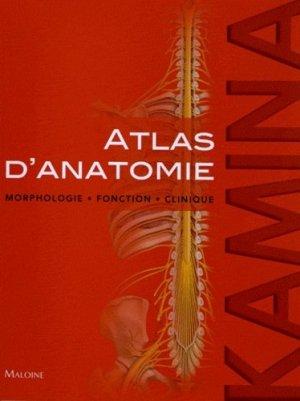 Atlas d'anatomie - maloine - 9782224032210 - anatomie, physiologie