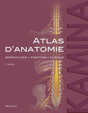 Atlas d'anatomie - maloine - 9782224036393 -