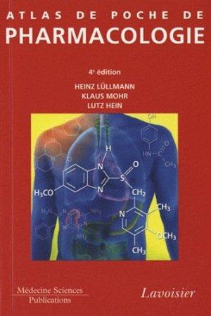 Atlas de poche de Pharmacologie - lavoisier - 9782257000699