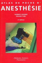 Atlas de poche d'anesthésie - lavoisier msp - 9782257000880 -