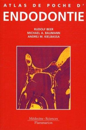 Atlas de poche d'endodontie - lavoisier msp - 9782257112156 -
