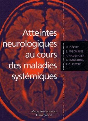 Atteintes neurologiques au cours des maladies systémiques - lavoisier msp - 9782257128362 -