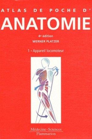 Atlas de poche d'anatomie - lavoisier msp - 9782257204752 -