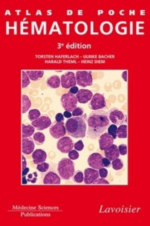 Atlas de poche d'hématologie - lavoisier msp - 9782257205483 -
