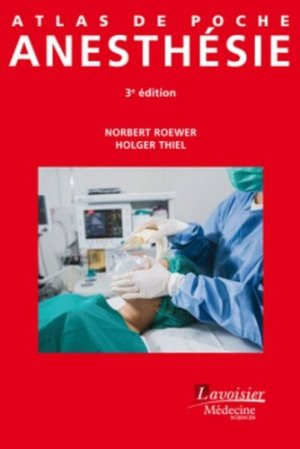 Atlas de poche d'anesthésie - lavoisier msp - 9782257205995
