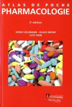 Atlas de poche de Pharmacologie - lavoisier msp - 9782257206459