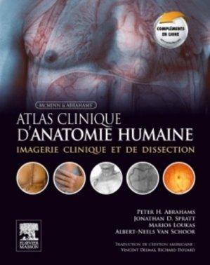 Atlas clinique d'anatomie humaine de McMinn et Abrahams-elsevier / masson-9782294724855