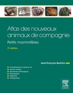 Atlas des nouveaux animaux de compagnie - elsevier / masson - 9782294744037 -