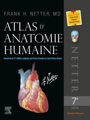 Atlas d'anatomie humaine de Netter - elsevier / masson - 9782294756290 -