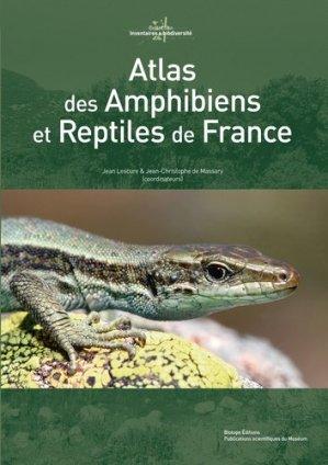 Atlas des amphibiens et reptiles de France - biotope - 9782366620184 -