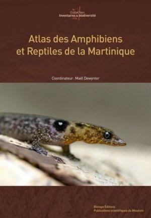 Atlas des Amphibiens et Reptiles de Martinique - biotope - 9782366621884 -