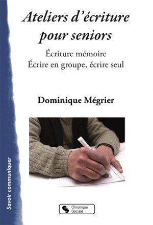 Ateliers mémoire pour seniors - chronique sociale - 9782367173771