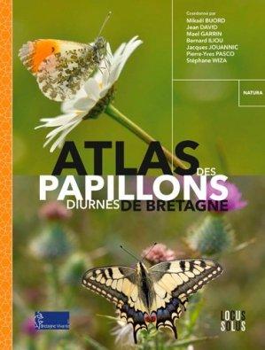Atlas des papillons diurnes de Bretagne - locus solus - 9782368331088 -