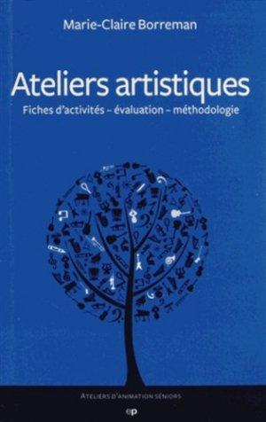 Ateliers artistiques - phalente  - 9782368350041 -
