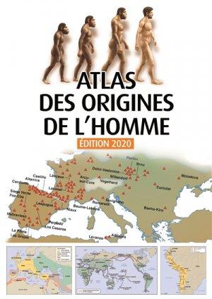 Atlas des origines de l'Homme - du sens - 9782379830037