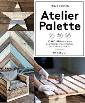 Atelier palette - Marabout - 9782501141833 -