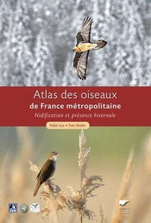 Atlas des Oiseaux de France métropolitaine 2 Volumes - delachaux et niestle - 9782603018781 -