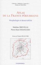 Atlas de la France périurbaine - economica anthropos - 9782717868258