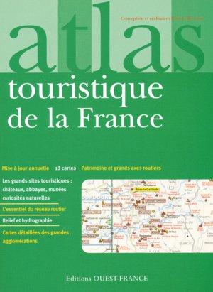 Atlas touristique de la France - ouest-france - 9782737344299 -