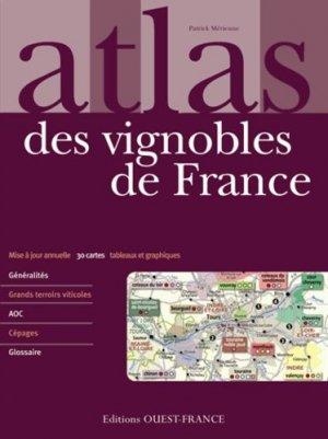 Atlas des vignobles de France - ouest-france - 9782737358500 -