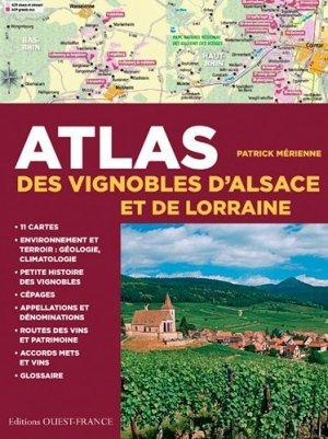 Atlas des vignobles d'Alsace et de Lorraine - ouest-france - 9782737363887 -