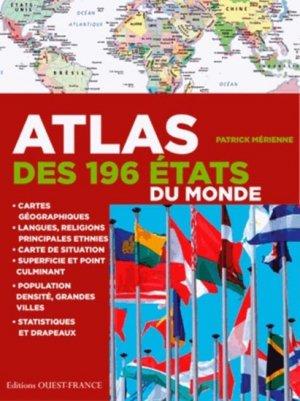 Atlas des 196 États du monde - ouest-france - 9782737364044 -