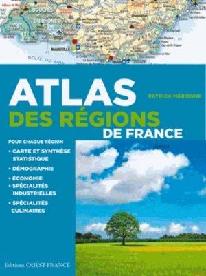 Atlas des régions de France - ouest-france - 9782737364051
