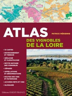 Atlas des vignobles de la Loire - ouest-france - 9782737367298 -