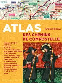Atlas des chemins de compostelle - ouest-france - 9782737367311 -