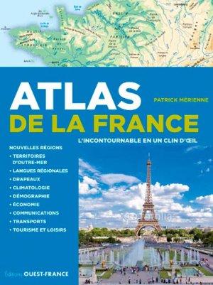 Atlas de France - ouest-france - 9782737368455 -