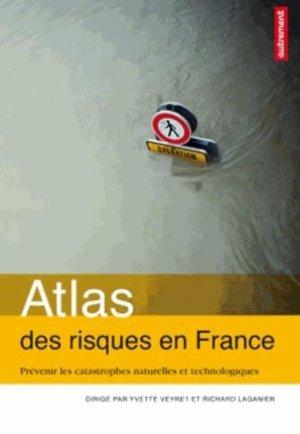 Atlas des risques en France - autrement - 9782746734319 -