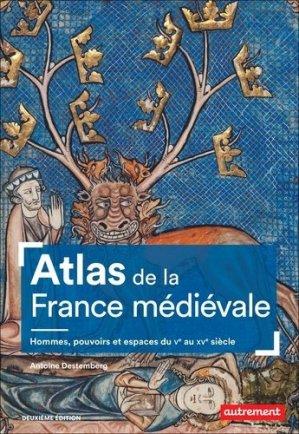 Atlas de la France médiévale - autrement - 9782746755925 -