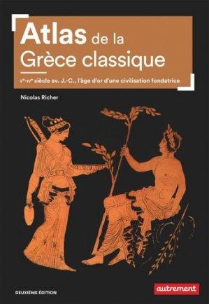 Atlas de la Grèce classique - autrement - 9782746757042 -