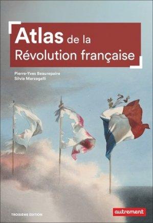 Atlas de la Révolution française - autrement - 9782746757059 -