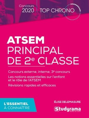 ATSEM principal de 2e classe - studyrama - 9782759041862 -