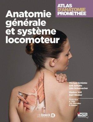 Atlas d'anatomie Prométhée 1 - de boeck superieur - 9782804185527 -