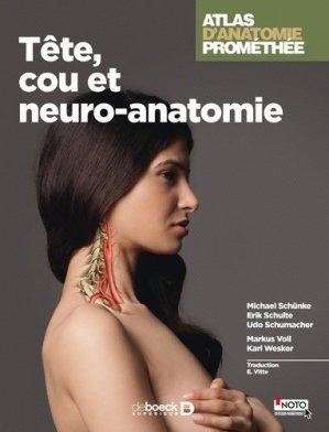 Atlas d'anatomie Promethée 3 - de boeck superieur - 9782804186159 -