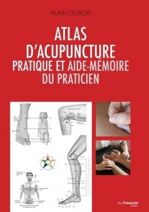 Atlas d'acupuncture pratique et aide-memoire du praticien - tredaniel - 9782813208880 -