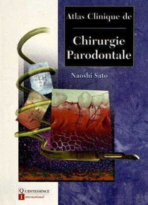 Atlas clinique de Chirurgie Parodontale - quintessence international - 9782912550897