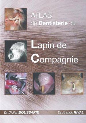 Atlas de Dentisterie du Lapin de Compagnie - vetnac - 9782917389010 -