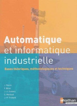 Automatique et informatique industrielle  - nathan - 9782091794525 -